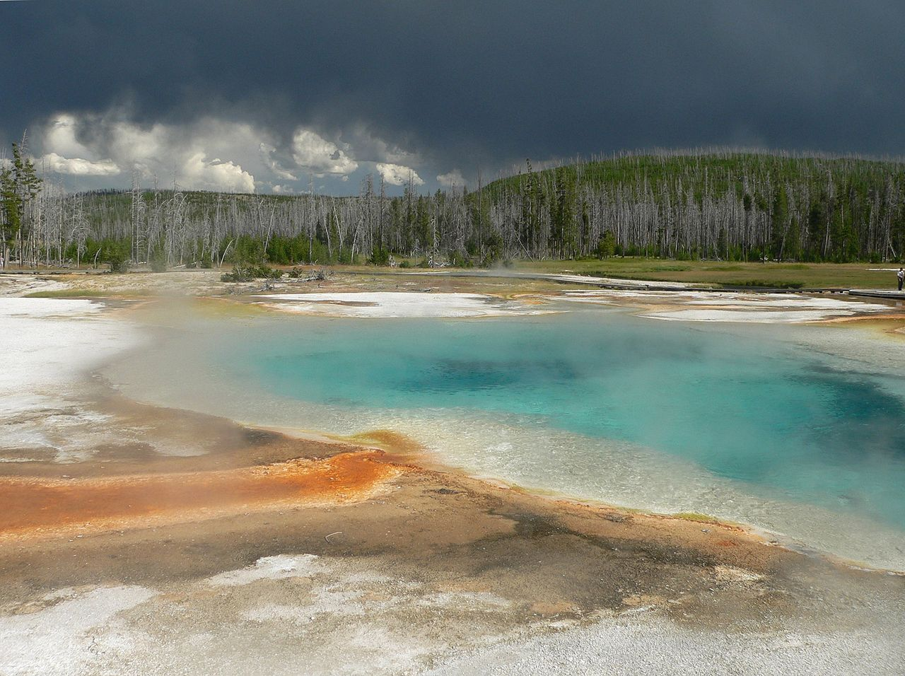 Park Narodowy Yellowstone, fot. David Monniaux CC by-sa 3.0