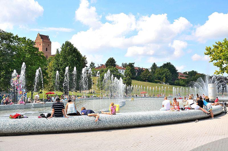 Fot. Wikimedia. Multimedialny Park Fontann Warszawa