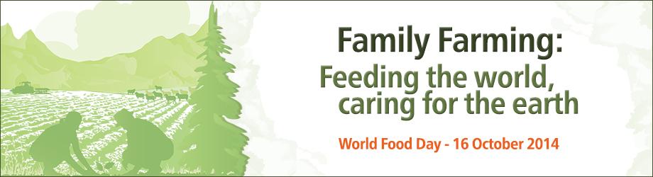 Oficjalny plakat Światowego Dnia Żywności. Źródło FAO