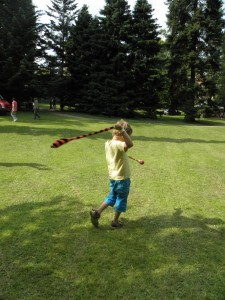 żonglerka skarpetami