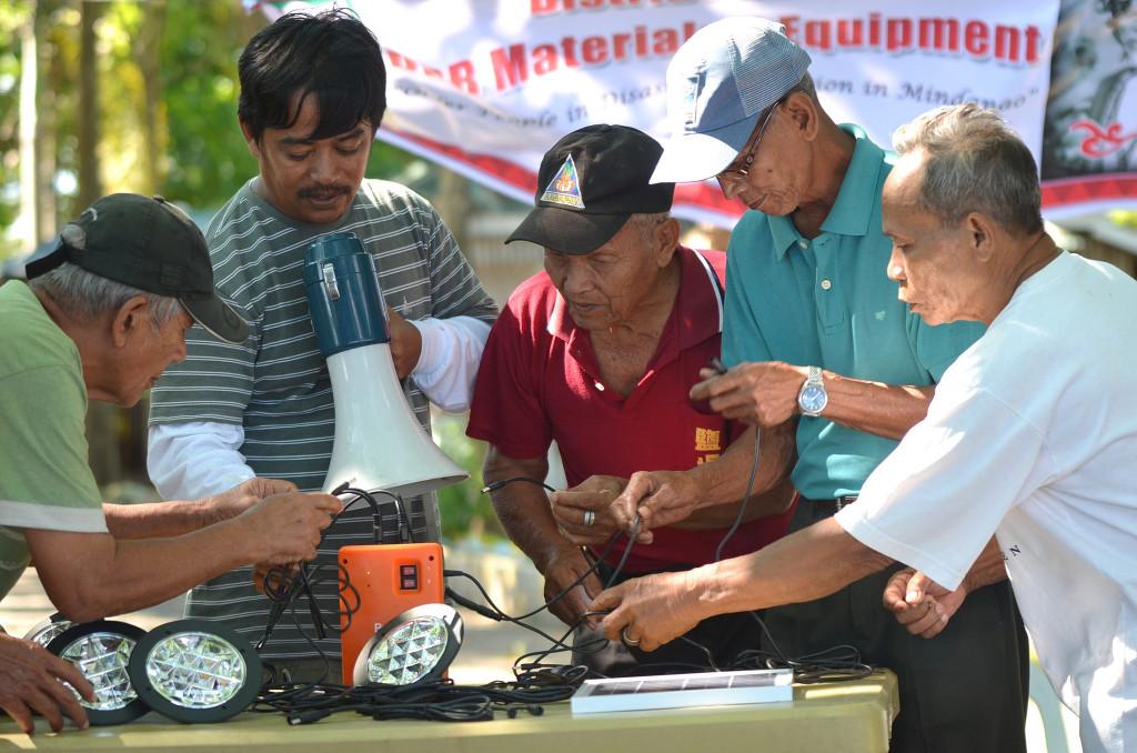 Warsztaty z ograniczania zagrożenia kataklizmem na Filipinach. Aut. Artemio Andaya. Źródło UNISDR