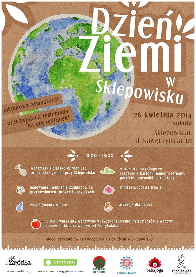 Dzień Ziemi 2014 W Sklepowisku Warszawa 26042014 Eko
