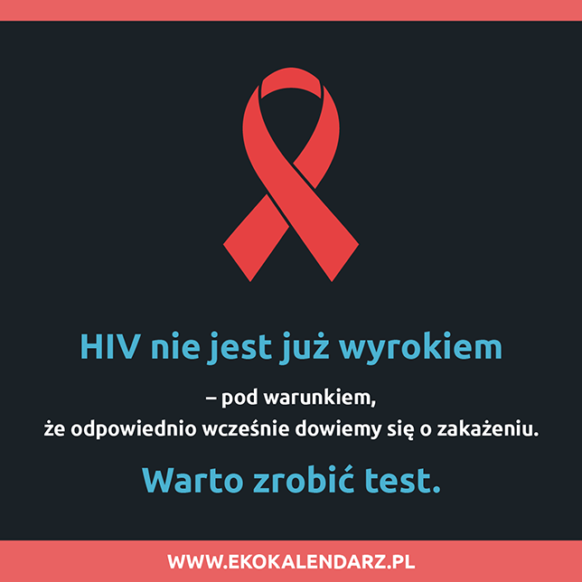 światowy Dzień Walki Z Aids Eko Kalendarz