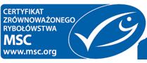 Certyfikat Zrównoważonego Rybołówstwa MSC
