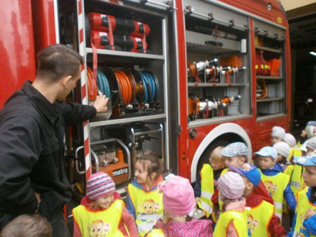 spotkanie ze strażakiem.